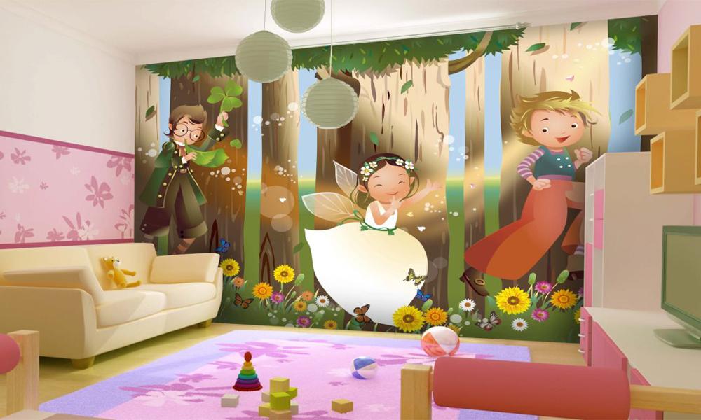 kid room wallpaper