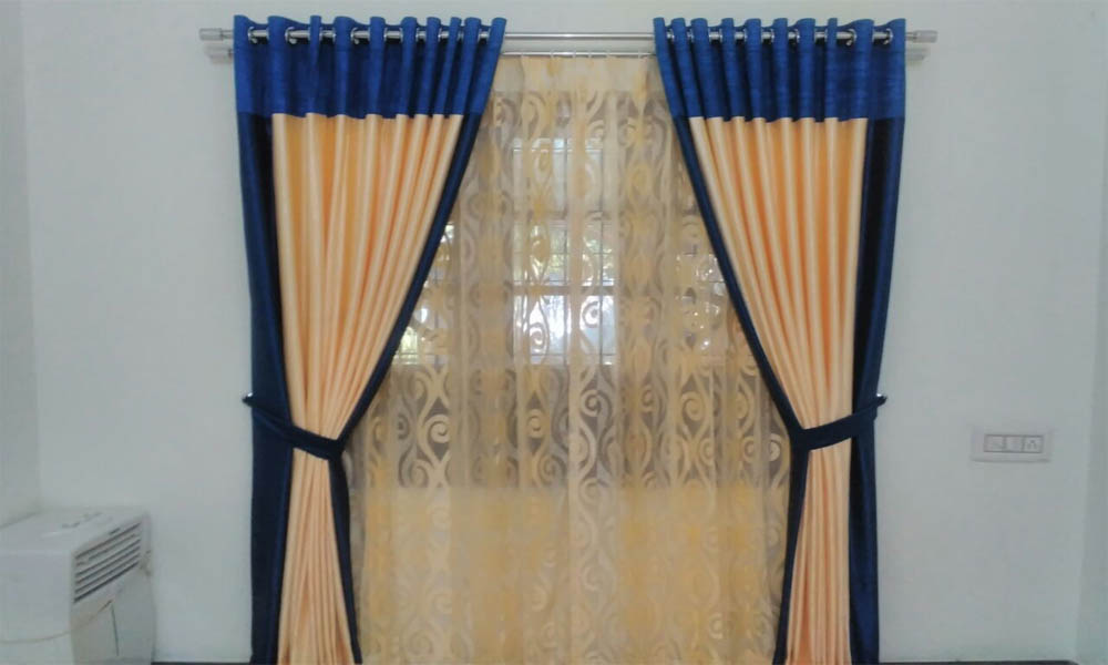 sheer curtain