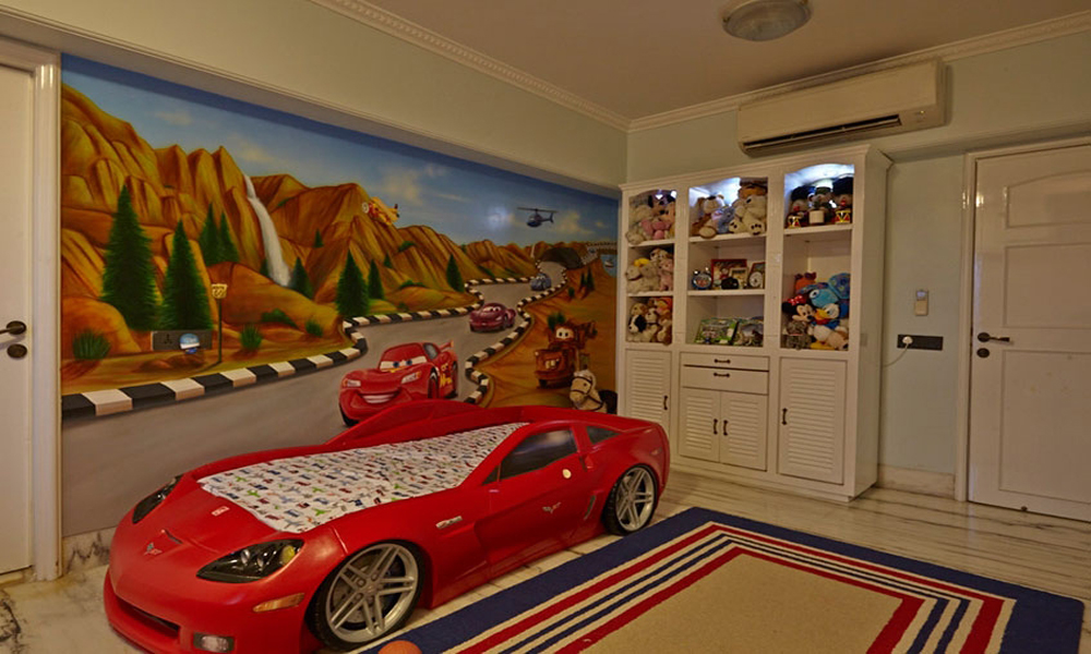 kid room wallpaper